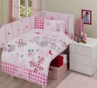 Baby Sleeping Sets Pink Rabbit