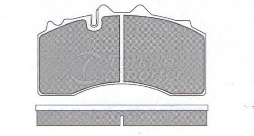 Brake Pad - WVA 29228