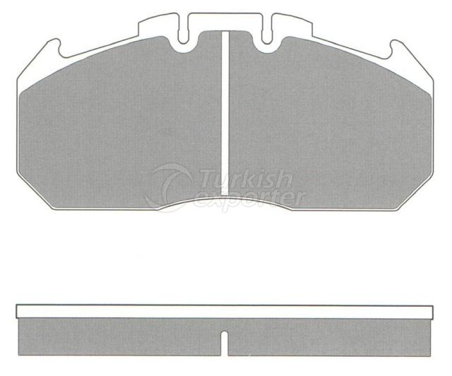 Brake Pad - WVA 29131-29156