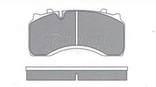 Brake Pad - WVA 29141-29142