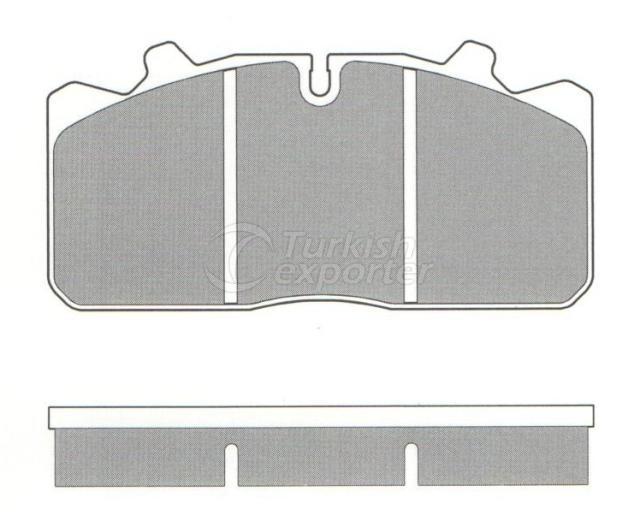 Brake Pad - WVA 29030-29144-29088