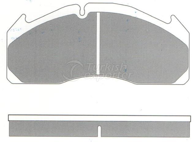 Brake Pad - WVA 29125