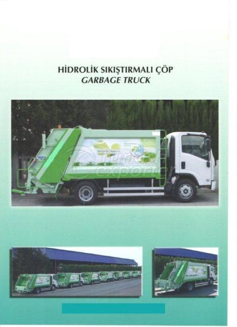 Hydraulic Garbage Truck