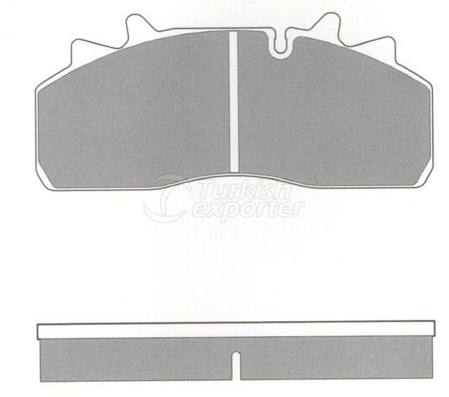 Brake Pad - WVA 29159-29126