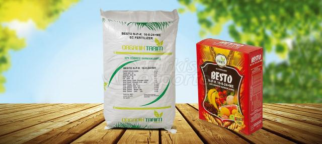 Fertilizers Besto NPK 16_8_24