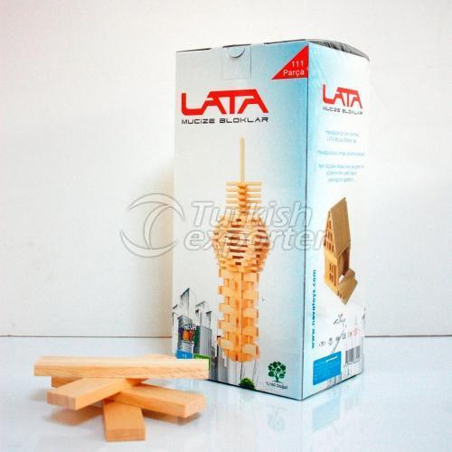 Wooden Blocks NEVATOYS LATA