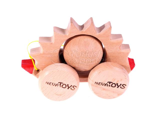 Push Along Toys Hedgehog