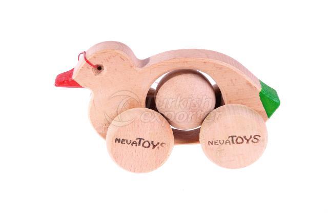 Push Along Toys Duck