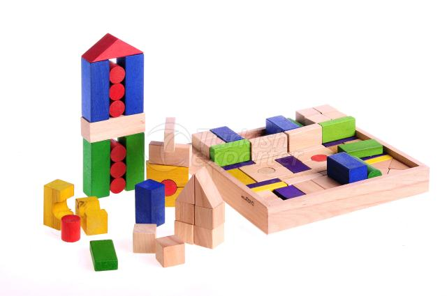 Colourful Blocks 97 Pieces