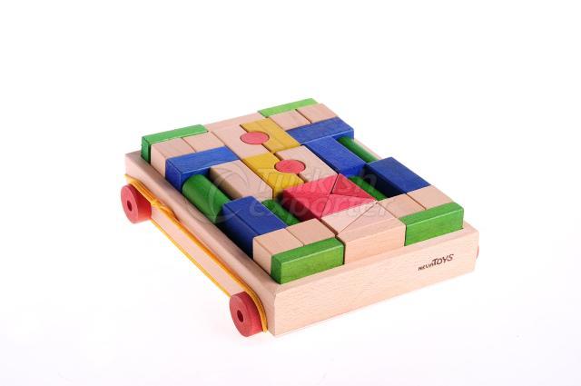Colourful Blocks 72 Pieces