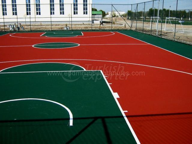 Epdm Sport Field Flooring
