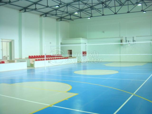Pu Sport Area Flooring
