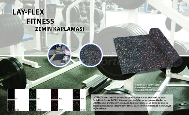 Fitness Flooring Lay Flex