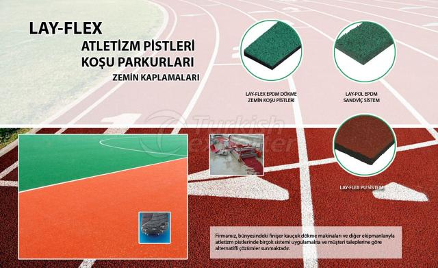 Atheletic's Track Lay Flex