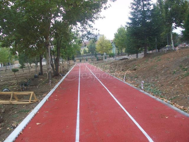 Epdm Running Track