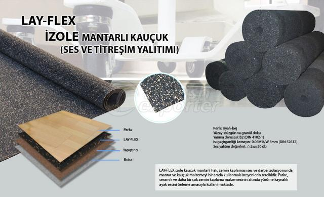 Cork Isolated Rubber Lay Flex