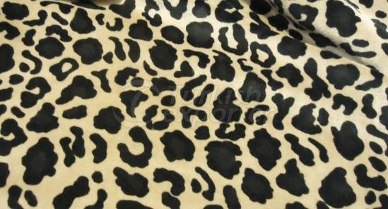 Printed Knitted Velour Fabric