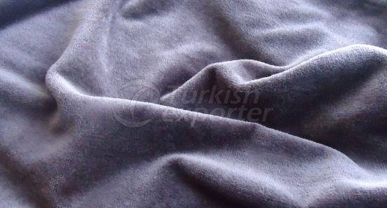 Plain Woven Velour Fabric