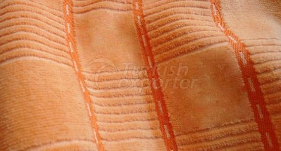 Jacquard Woven Velour Fabric