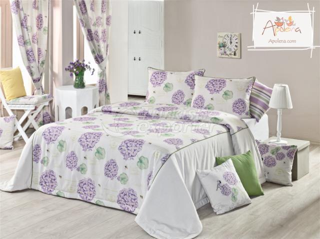 Hortensia print bed linen