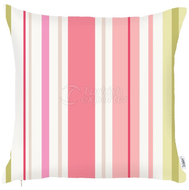 Pillowcase with feature light pink