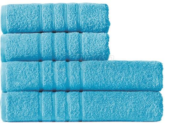 Turquoise towel