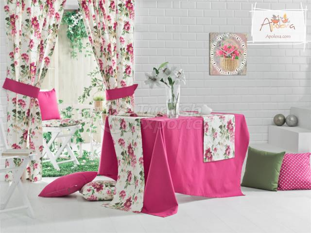 Fuschia and flowers concept