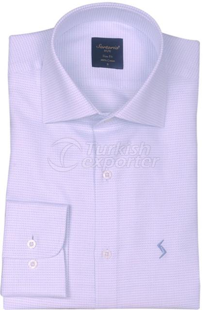 Shirts Blue 4089