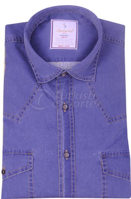 Shirts Navy 4055