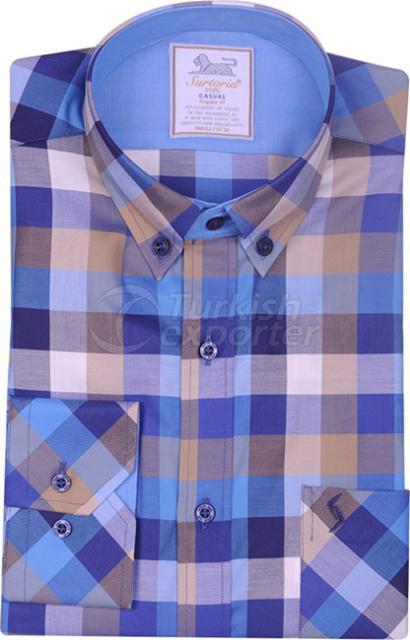 Shirts Turquoise 4017