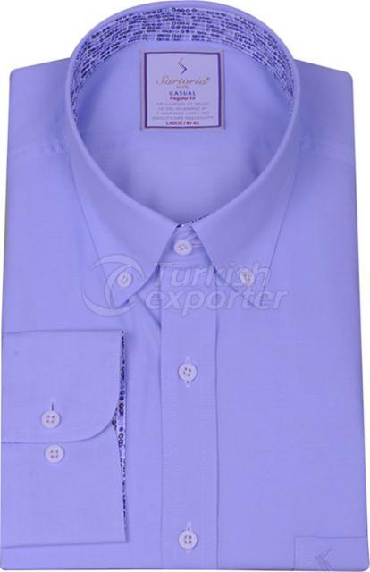 Shirts Blue 4086