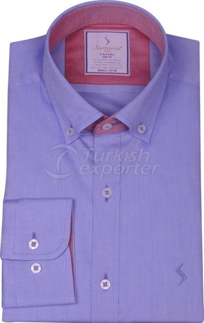 Shirts Blue 4064