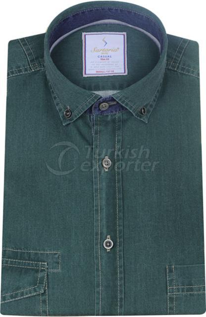 Shirts Green 4066