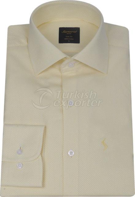 Shirts Yellow 4058