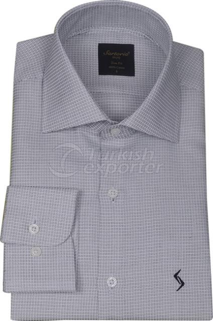 Shirts Grey 4057