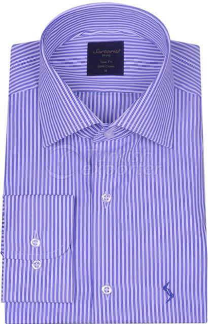 Shirts Blue 4060