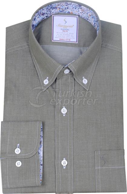Shirts Khaki 4086