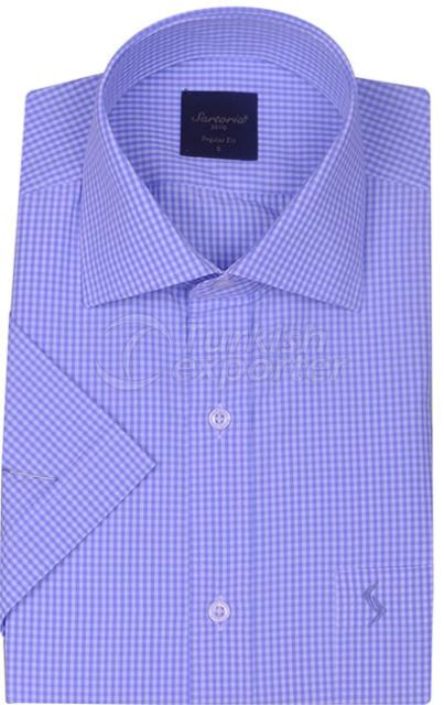 Shirts Blue 4077