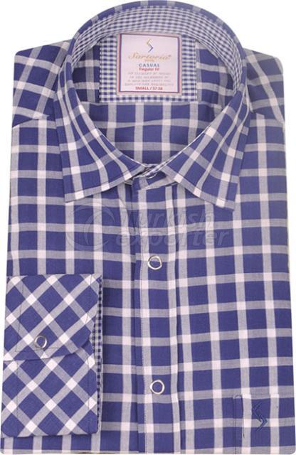 Shirts Navy 4120