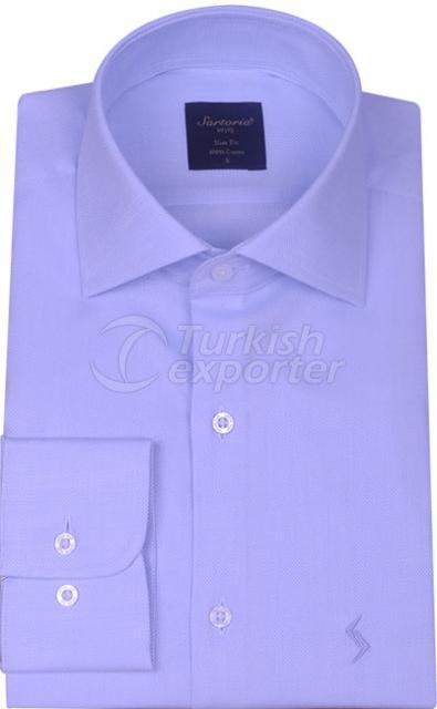 Shirts Blue 4057