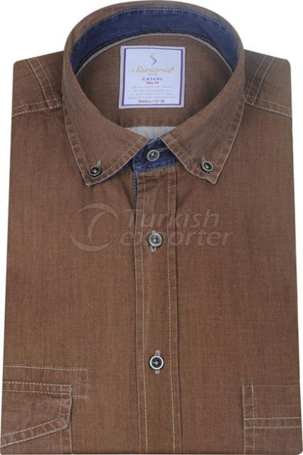 Shirts Brown 4066