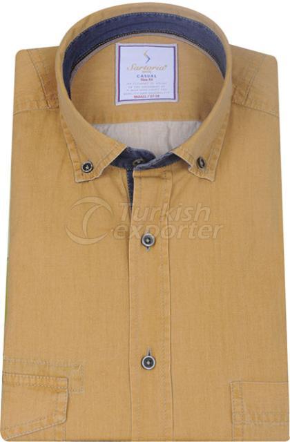 Shirts Mustard 4066