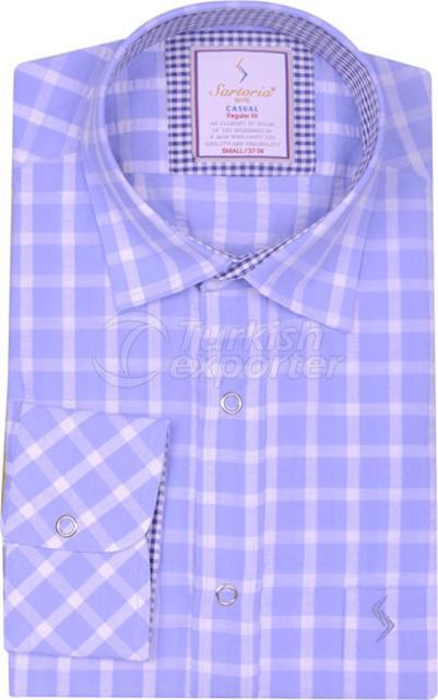Shirts Blue 4120