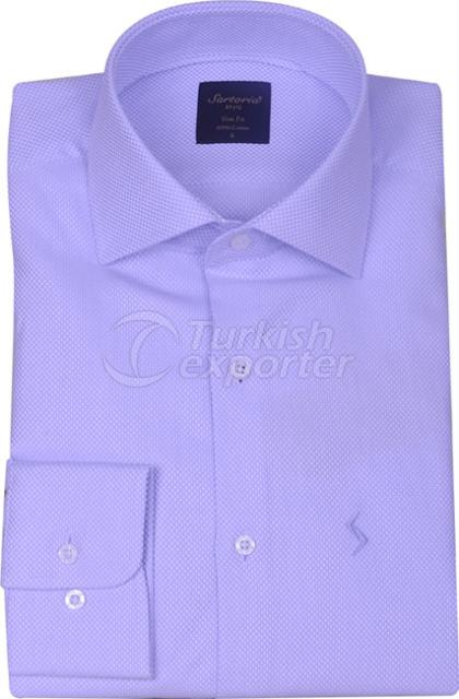Shirts Blue 4058