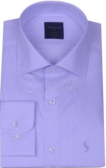 Shirts Blue 4061