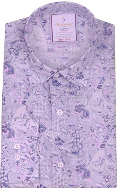 Shirts Purple 4091