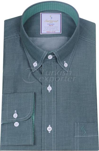 Shirts Green 4086