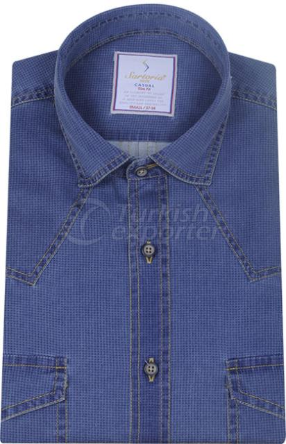 Shirts Navy 4056