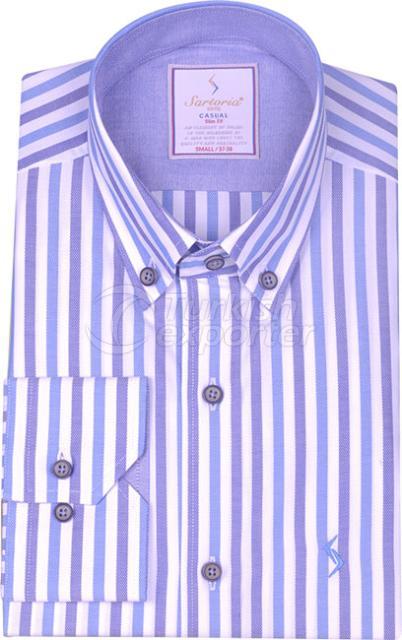 Shirts Blue 4019