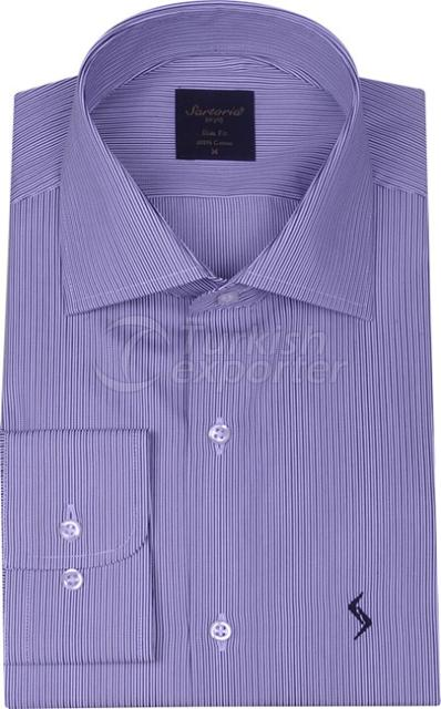 Shirts Blue 4063